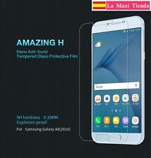 "Glass Tempered Nillkin for "" Samsung Galaxy A8 2016 "" Amazing H Original Glass"