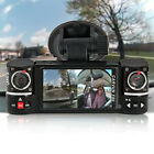"NEW! 2.7"" TFT LCD Dual Camera Rotated Lens Car Security Camera Recorder Dash Cam"
