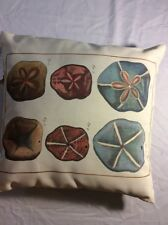 Sand Dollars Indoor Outdoor Pillow Climaweave Throw Pillow