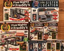 FIVE NIGHTS AT FREDDY'S COMPLETE SET SISTER LOCATION CONSTRUCTION MCFARLANE LEGO