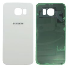 Back Cover Battery Cover White for Samsung Galaxy S6 Edge G925F Shell Frame