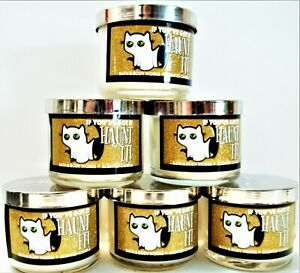 Bath Body Works IF YOU'VE GOT IT HAUNT IT Autumn Mini Candles,1.3 oz., NEW x 6