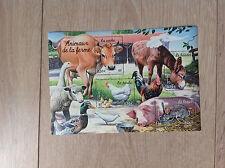 Bloc feuillet 69 de 2004 neuf : nature de France - animaux de la ferme