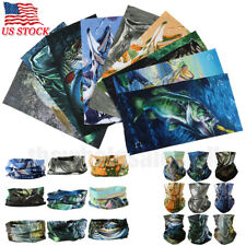 9X Seamless Neck Tube Bandana Fishing Face Motorcycle UV Sport Headwear US