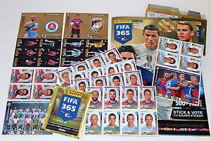 Panini Fifa 365 Season 2016 Extra Stickers E1-E60 + Album (Edition Cz / Svk )