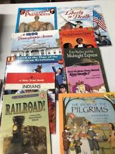 Lot of 10 Children & Young Adult History Themed PB Books Home School