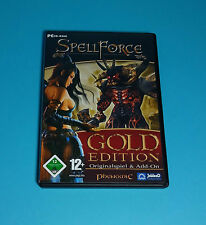 SpellForce - Gold Edition, Originalspiel & Add-On (PC Spiel)