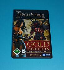 SpellForce - Gold Edition, Originalspiel & Add-On (PC Spiel)