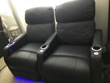 Seatcraft Home Theater Seating Power Recline Row of 2