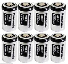 Panasonic CR2 Industrial Lithium Battery DL-CR2 Photo 3V 8 Batteries EXP 2028
