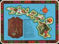 ROYAL HAWAIIAN UNITED AIRLINES PLACEMAT