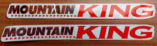 Mountain King Cycle Bike Stickers Grafix Graphic Decals Townsend Transfers Retro
