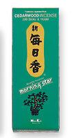 Nippon Kodo Morning Star - Incienso Japones - Cedro 200 Varillas + Incienso