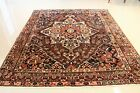 Genuine Persian Antique Bakhtiari 7'x 8.4' ONE OF A KIND MUST BUY!!! ANTIQUE!