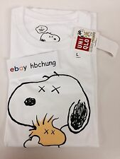 Uniqlo KAWS x Peanuts Snoopy and Woodstock T-Shirt Size L. Ships From Cali