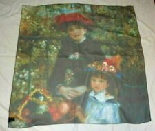Art Institute of Chicago Renoir Two Sisters by Gouda Polyester Scarf Made in USA