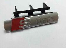 Emblema logo insignia Sline S LINE  parrilla grill frontal  Audi A4 13 - 15
