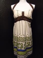 Dress Barn Floral Print Dress Size 8 -C-