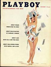 PLAYBOY US 11/1957 November – Sophia Loren + Jayne Mansfield + Ella Fitzgerald