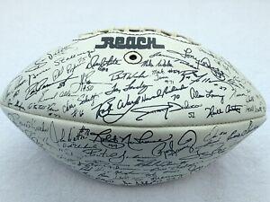 1983 Dallas Cowboys Team Signed Autographed Football Ed Jones Dorsett Landry