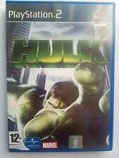 Hulk Sony PlayStation 2 Ps2 Action Adventure video Game. VGC Complete.
