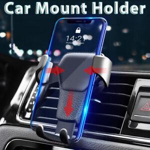 Gravity Car Cell Phone Holder Air Vent GPS Clip Mount Phone Holder Universal