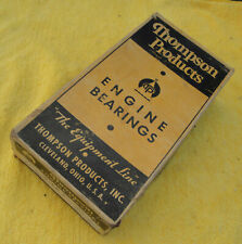 1938 TO 1942 FORD V8 - SET OF NORS USA MADE THOMPSON STANDARD CON ROD BEARINGS