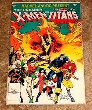 MARVEL & DC COMICS PRESENTS UNCANNY X-MEN AND NEW TEEN TITANS #1 FN-VFN SWEET