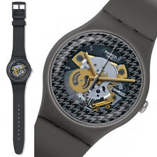 swatch new gent greybolino orologio uomo donna unisex skeleton da collezione