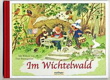 Im Wichtelwald Reizendes Bilderbuch von Fritz Baumgarten Halbleinen Reprint 1920
