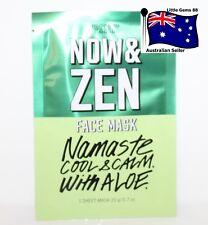 VICTORIA'S SECRET * FACE MASK * Now & Zen * 20GRAMS * 1 SHEET *