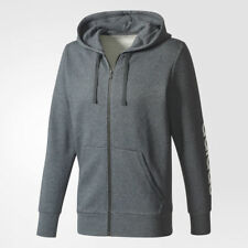 addidas Men's Full Zip Sweatshirt Hoodie Jacket NWT Large Dark Gray  Ret. $55.00