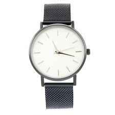 Men Boys Luxury Casual Watch Sport Quartz Analog Wrist Watches Stainless Steel
