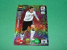KLOSE DEUTSCHLAND  PANINI FOOTBALL FIFA WORLD CUP 2010 CARD ADRENALYN XL