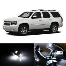 18x HID White Interior LED Lights Package Kit Fits 2007-2012 Chevy Tahoe New