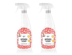 Kitchen Cleaner 2 x 750ml Aggie's Kills 99.9% of germs, Recyclable bottle