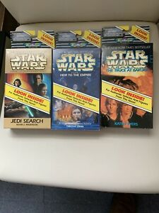 STAR WARS MICRO MACHINES x 3 HEIR TO THE EMPIRE