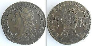 Collectable King James II 1689 Half Crown (Gun Money)