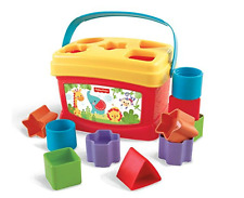 Fisher-Price Baby First Blocks Eye-Han Coordination Stacking Learning Bucket Toy