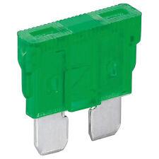 10 x KFZ-Sicherung 30 A Grün Flachsicherung Stecksicherung 4382