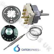 Universal Armario Caliente SERVERY CONTADOR Termostato & Perilla Kit 110oC 3 fases