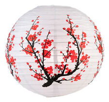 PL102: 16'' Chinese Japanese Paper Lantern Cherry Blossom Party Wedding Decor