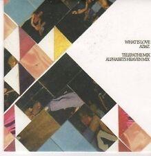 (CE985) What Is Love, Azitiz - 2011 DJ CD