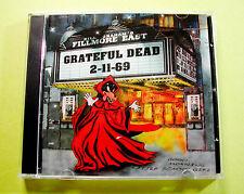 Grateful Dead Fillmore East 2-11-69 2 CD 1969 Live New York City Irwin Wolf Art