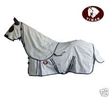 "Yimar 6'3"" Summer Ripstop Cotton Horse Rug and Hood Set SG63"