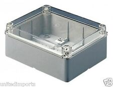 GEWISS GW44431 JUNCTION BOXES & ELECTRIC EQUIP. W/CLEAR LID - IP56 460X380X120mm