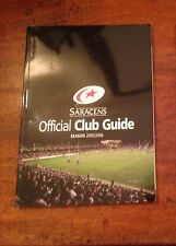 SARACENS OFFICIAL CLUB GUIDE. 2005-2006. SARRIES RUGBY UNION. VGC