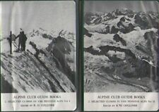 2 Vol Alpine Club Guide Books. Selected Climbs in the Pennine Alps ROBIN COLOMB