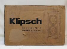 Klipsch Reference RW-5802 II Passive in-wall subwoofer
