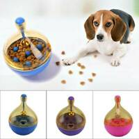 Pet Dog Puppy IQ Test Treat Ball Interactive Food Dispensing Toy Food Feed Toys